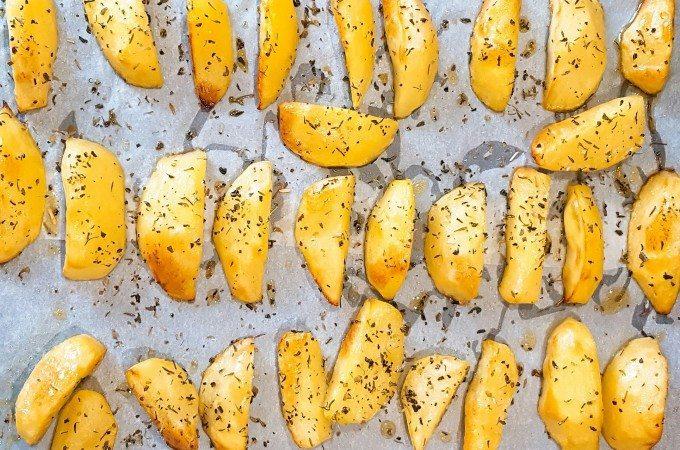 bijgerechten met aardappel geroosterd