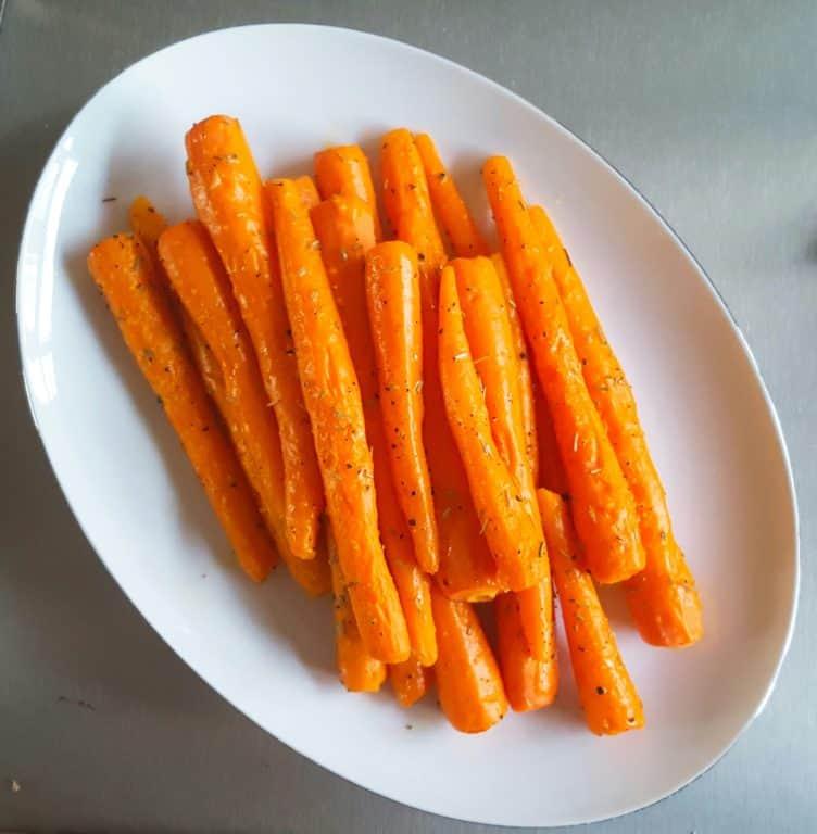 Geroosterde wortels - recept