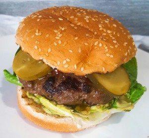 hapjes/snacks hamburger