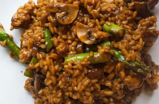 hoofdgerechten rijst teriyaki risotto