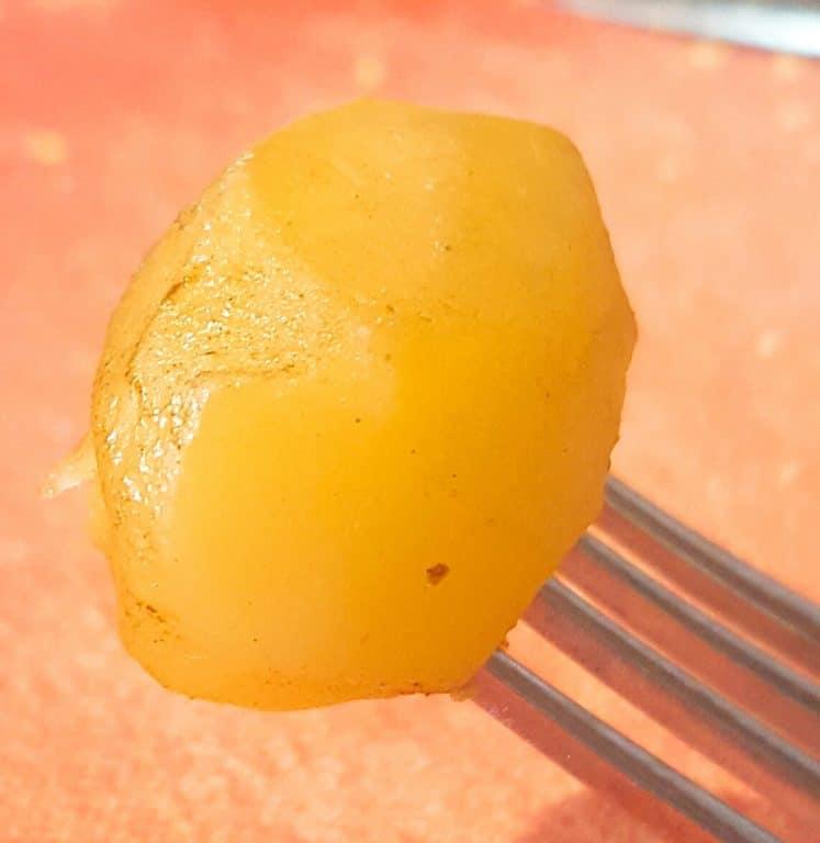 Boterzacht aardappeltje