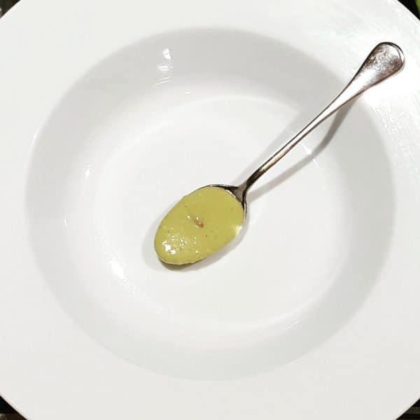 Avocadosoep met garnalen - recept