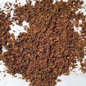Geraspte pure chocolade