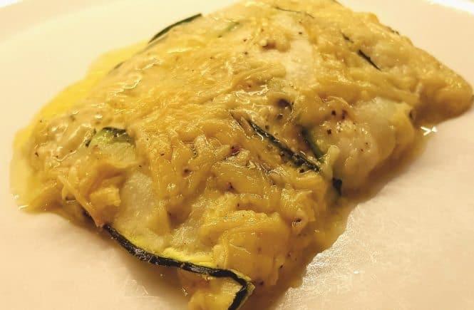 bijgerechten groente/fruit Courgette - kaas taartje