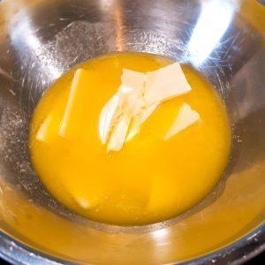 Boter smelten