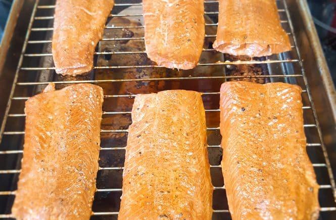 hoofdgerechten vis gerookte zalm