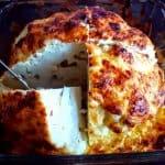 bijgerechten groente/fruit hele bloemkool uit de oven