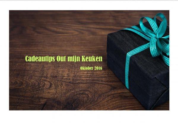 Culinaire cadeautips oktober 2016