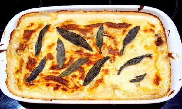 Testrecept uit Allerhande: Lasagne met paddenstoelen