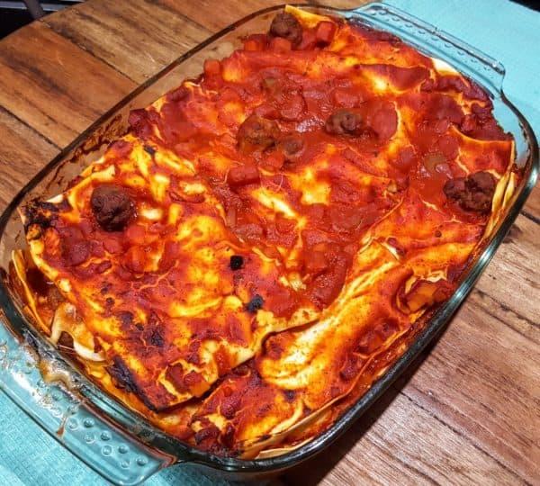 Lasagne alla Napoletana (Lasagne uit Napels)
