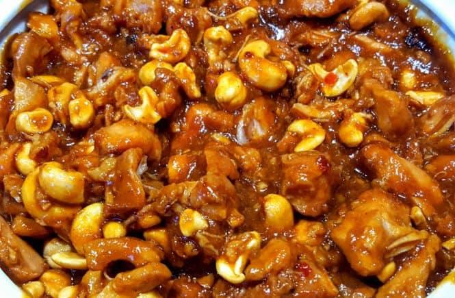 Slow Cooker cashew kip