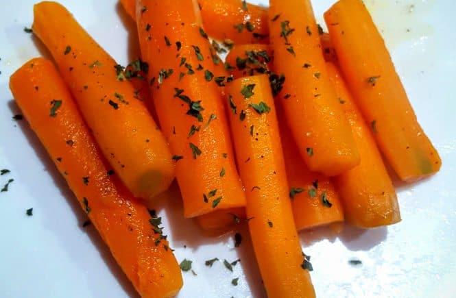 bijgerechten groente/fruit zoete worteltjes