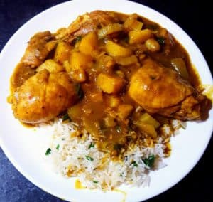 hoofdgerechten kip curry