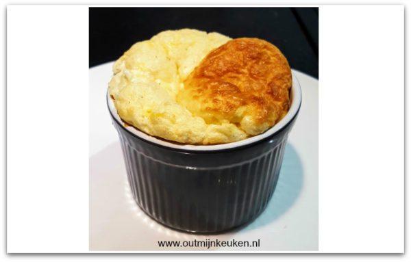 Keessoufflé: kaassoufflé met kaas van kees