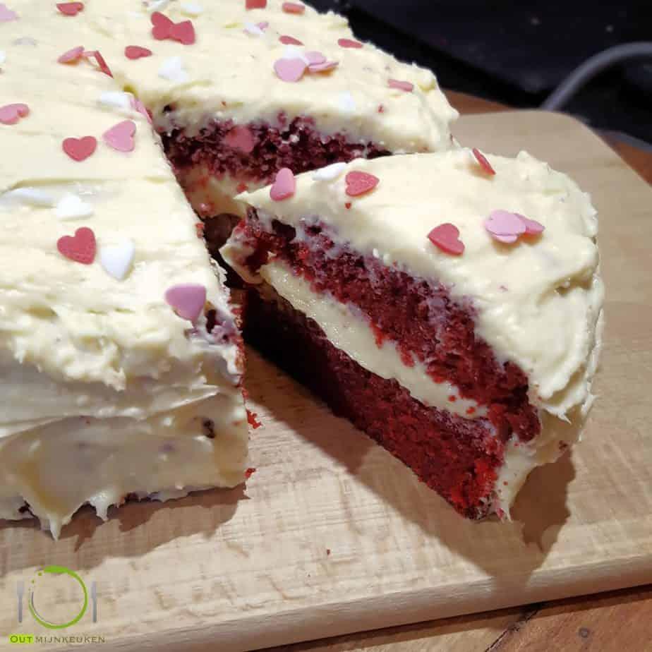 bakken - taart Red Velvet cake