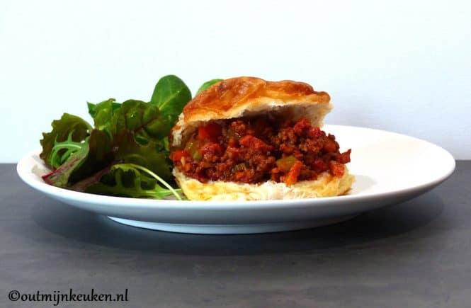Sloppy Joe broodje Bolognese
