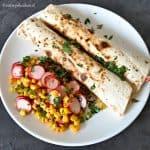 Tonijn wraps met Mexicaanse salade recept