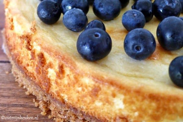 Cheesecake met blauwe bessen recept