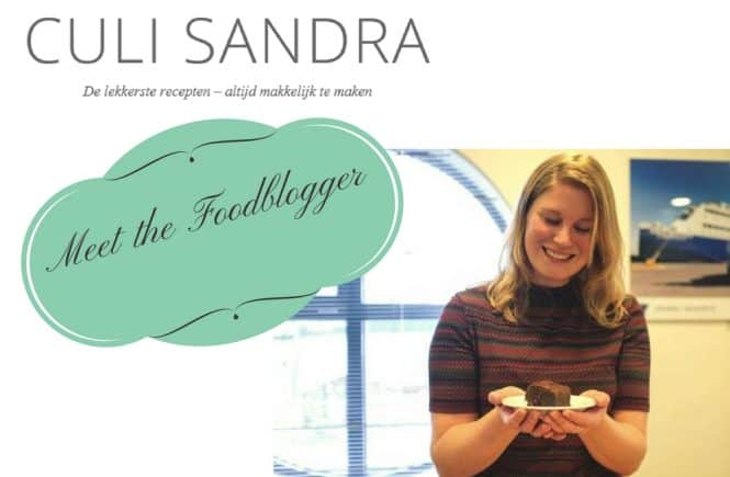 Meet the foodblogger Culi-Sandra