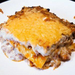 hoofdgerechten pasta Lasagne Bolognese