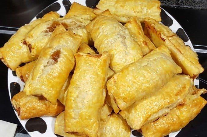 hapjes/snacks lunch saucijzenbroodjes 4