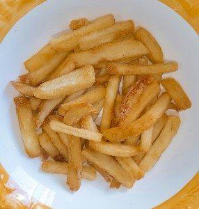 bijgerechten met aardappel friet