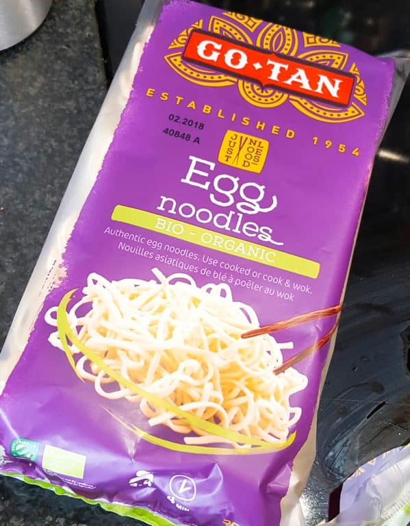 Egg noedels van Go-Tan