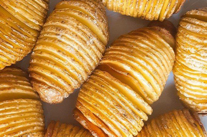 bijgerechten met aardappel hasselback