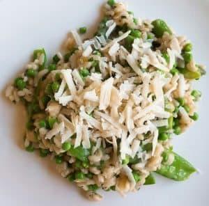hoofdgerechten rijst hoofdgerechten vegetarisch lente risotto