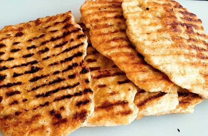 bakken - brood Platbrood uit de grillpan