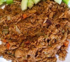 hoofdgerechten rijst Nasi