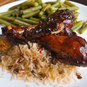 hoofdgerechten rijst balsamico kip