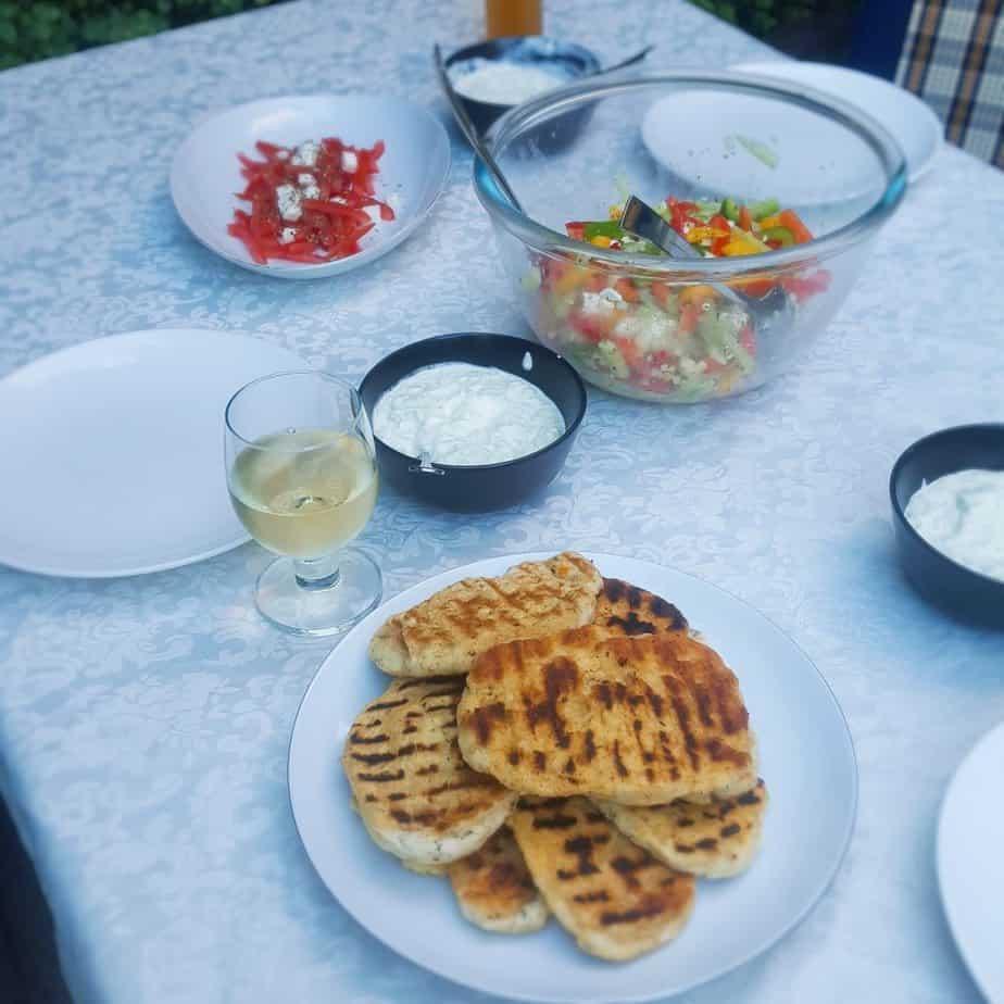 Grieks tuinfeestje