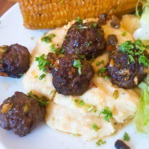 hoofdgerechten rundvlees polenta