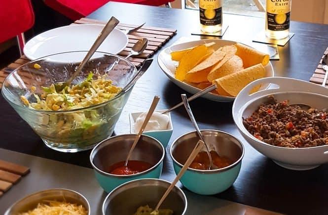 hoofdgerechten rundvlees taco