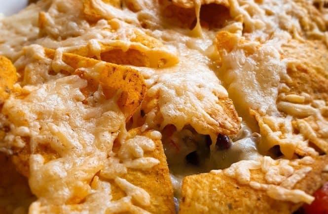 hoofdgerechten rundvlees nacho schotel