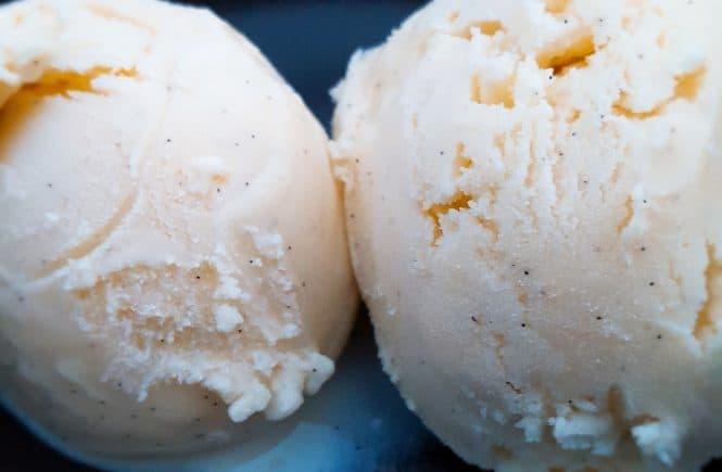 IJs vanille roomijs