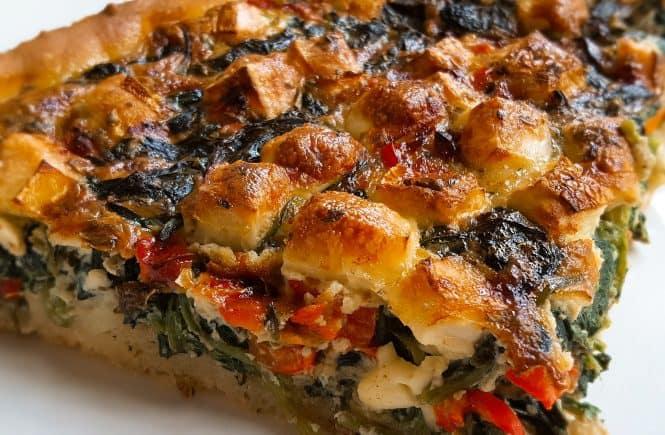 hoofdgerechten vegetarisch quiche