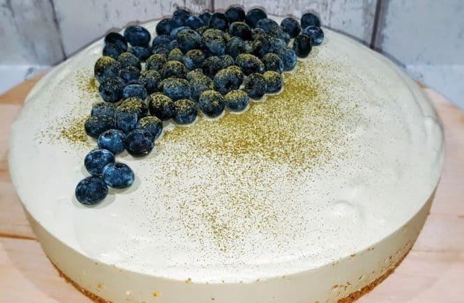 bakken - taart matcha cheesecake