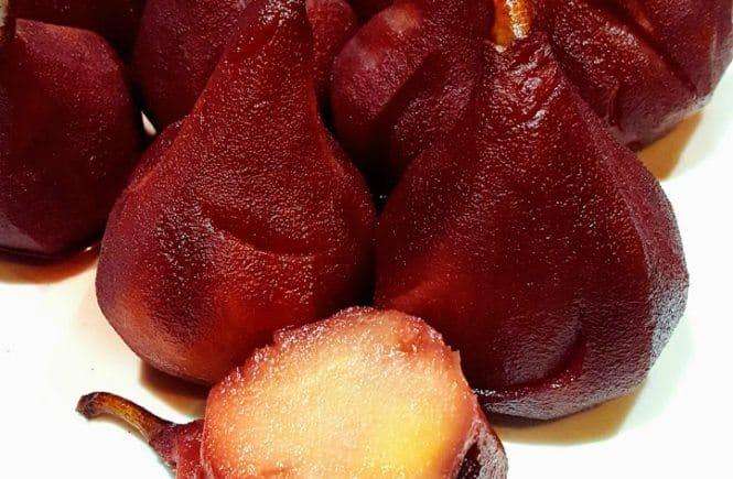 slow cooker bijgerechten groente/fruit stoofpeertjes