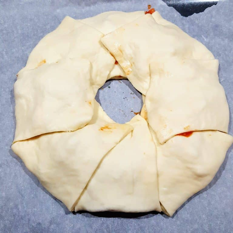 Pizza Calzone in ringvorm