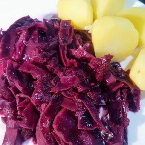 bijgerechten groente/fruit rode kool