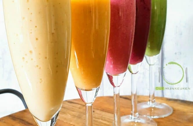 Ontbijt smoothies