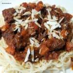 hoofdgerechten pasta recept pasta Napolitana