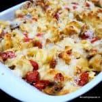 recept cheesy tortellini