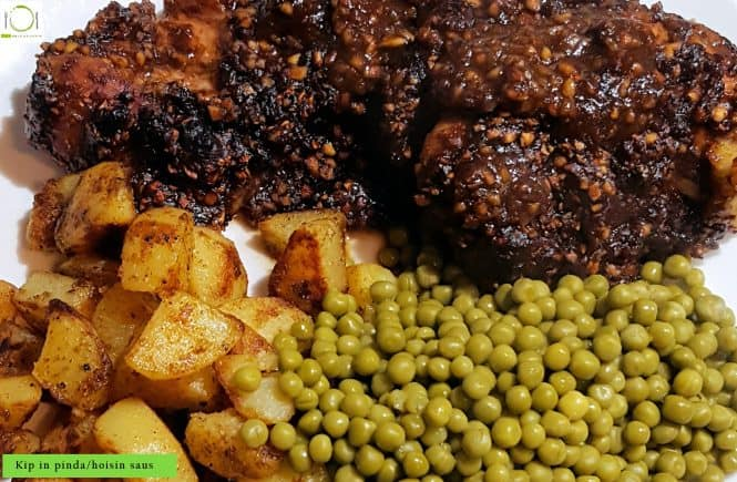 hoofdgerechten kip Recept Kip in pinda hoisin saus