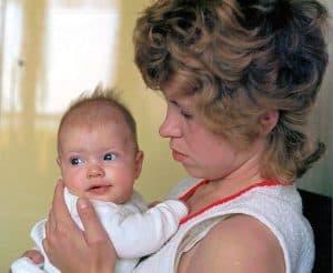 mama en ik