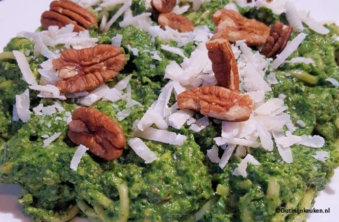 recept pasta in 't groen