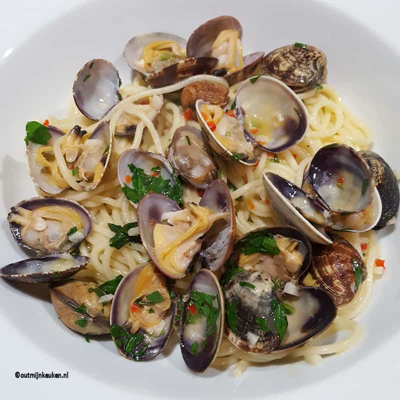 hoofdgerechten pasta recept spaghetti vongolo
