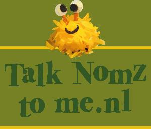 Talk nomz to me logo